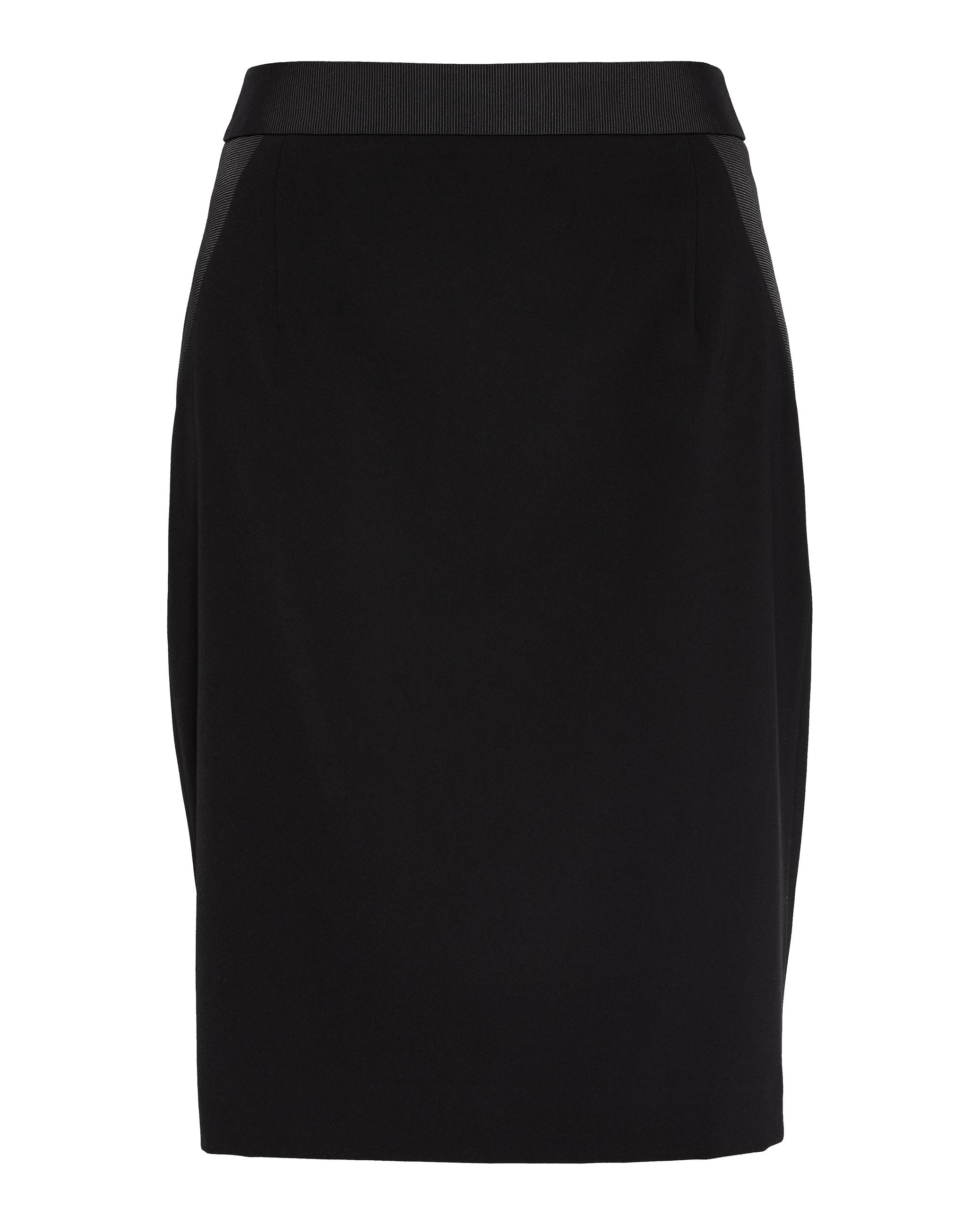 Ted Baker Shillis Ottoman Contrast Pencil Skirt, Black
