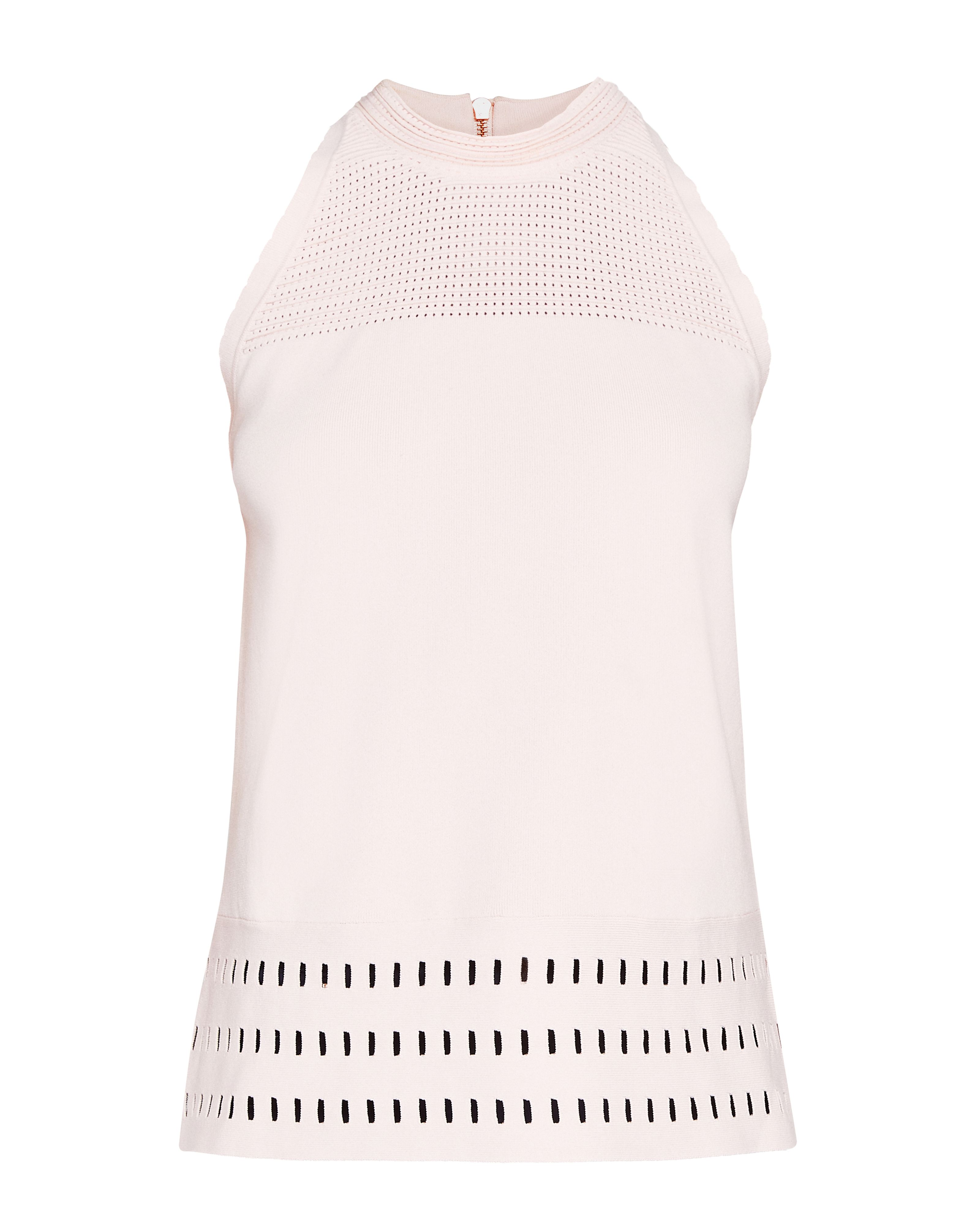 Ted Baker Georji Ottoman Knitted Top, Pink