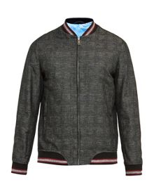 Ted Baker Reactiv Checked Bomber Jacket