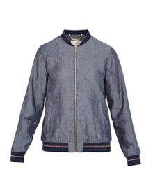 Ted Baker Cannock Metallic trim bomber jacket
