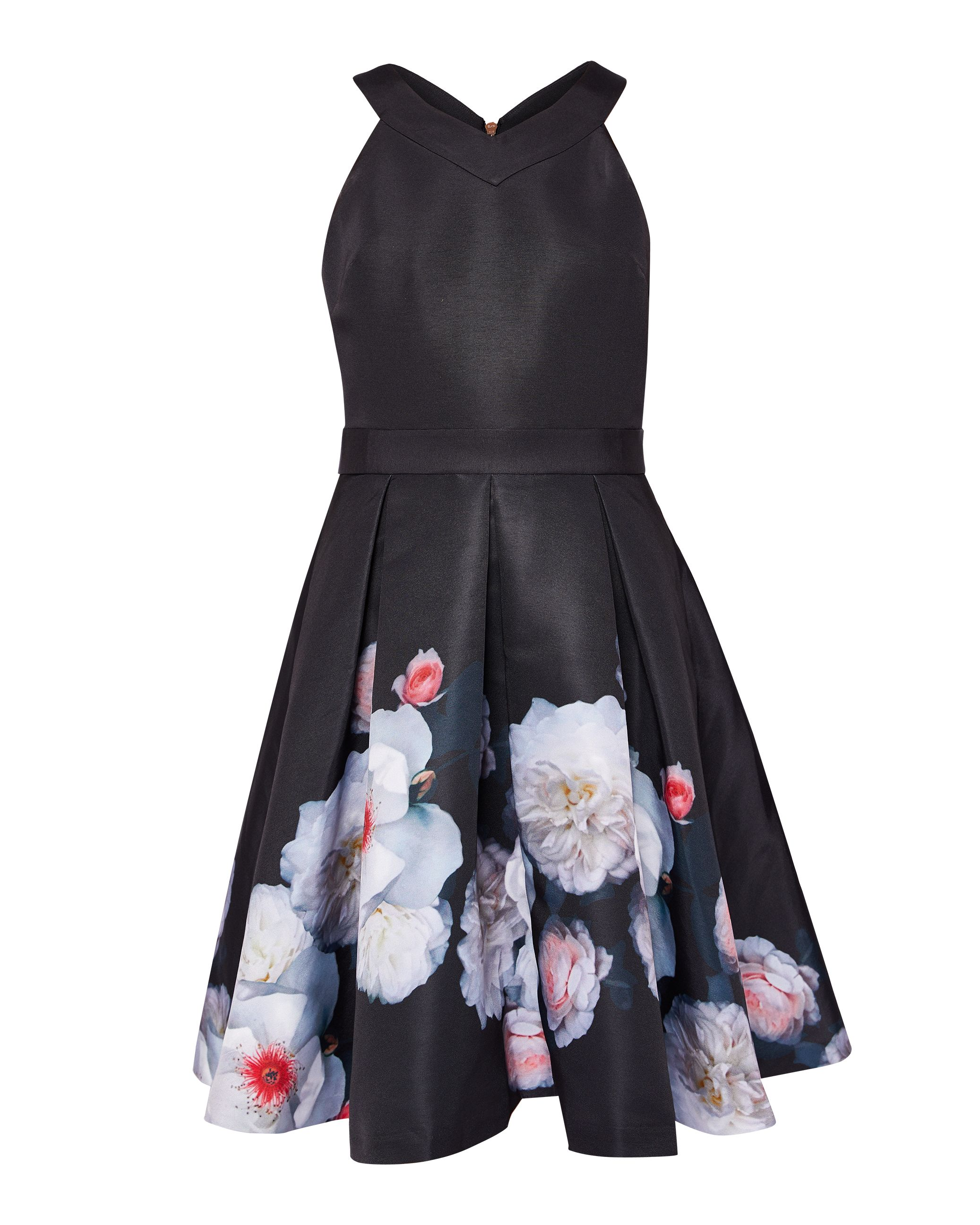 Ted Baker Jelina Chelsea Skater Dress, Black