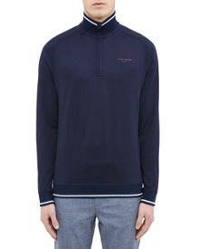 Ted Baker Par Zip Through Jersey Jumper