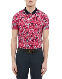 Ted Baker Legolf Cotton-Blend Polo Shirt