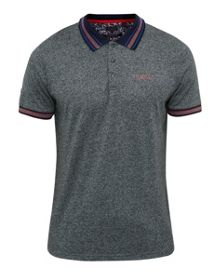 Ted Baker Fore Mouliné Cotton-Blend Polo Shirt