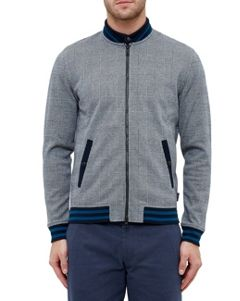 Ted Baker Qwean Checked Bomber Jacket