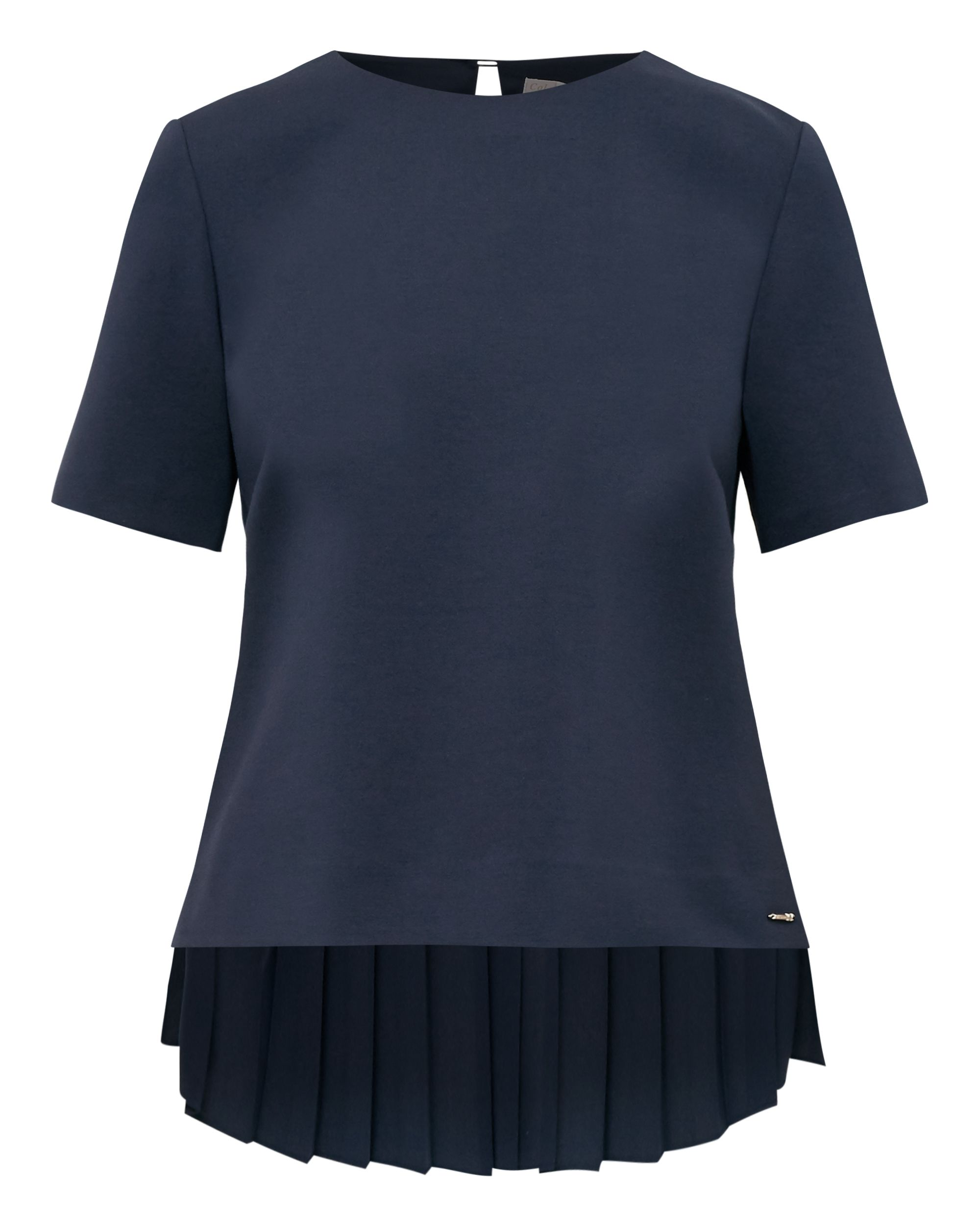 Ted Baker Naevaa Pleated Back Top, Blue