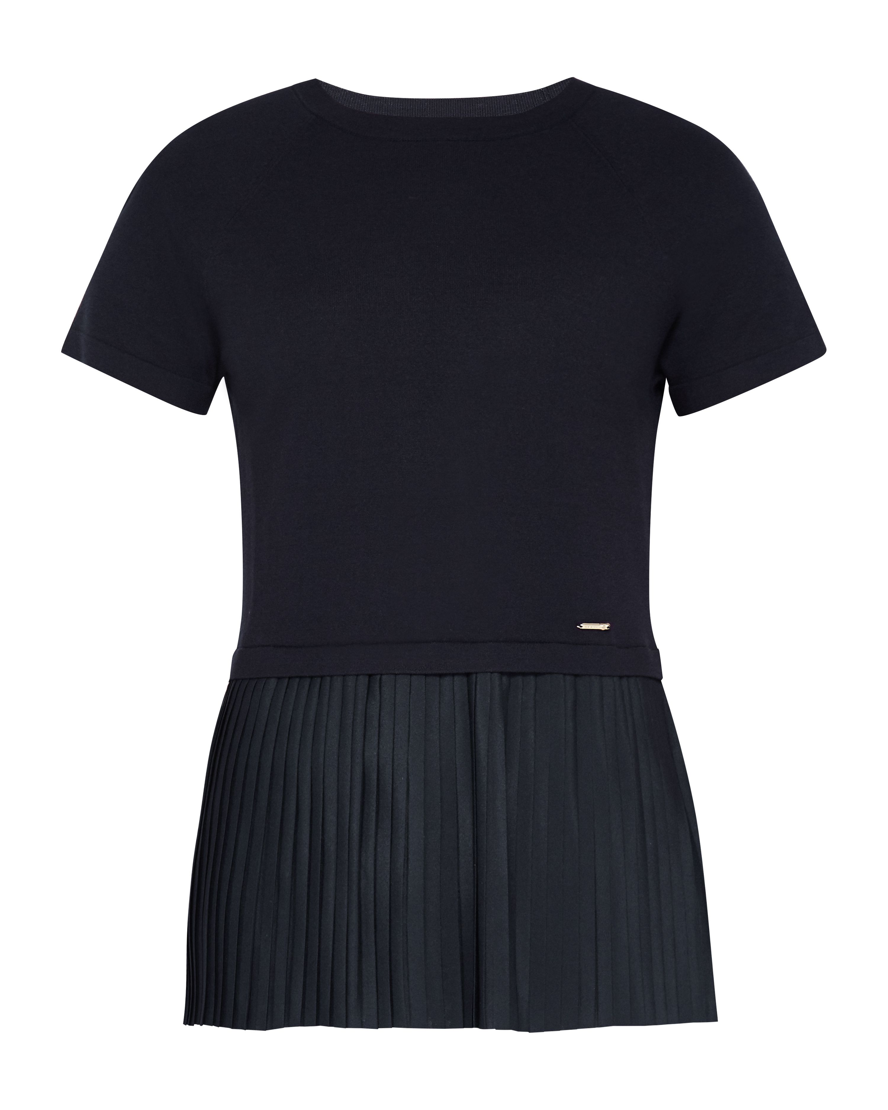 Ted Baker Gutai Pleated Layered Top, Blue