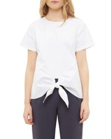 Ted Baker Suki Knot front cotton top
