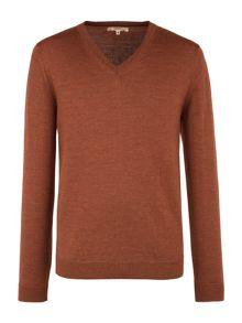 Gibson V Neck Merino Sweater