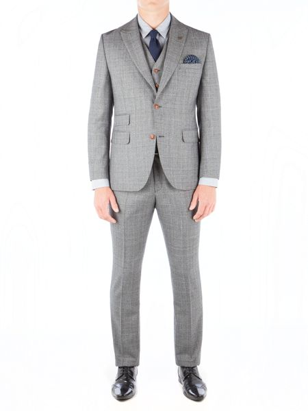 Gibson Grey Check Jacket