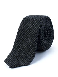 Gibson Blue Puppytooth Check Tie