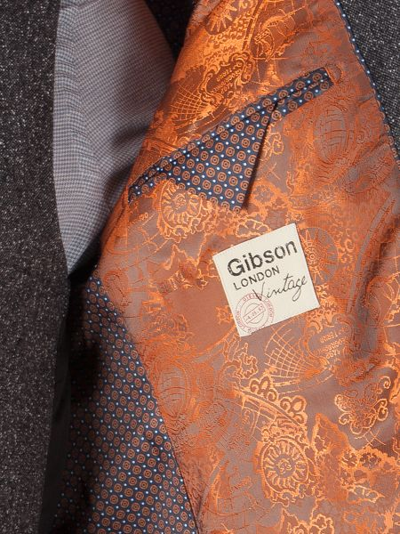 Gibson Grey Fleck Donegal Jacket
