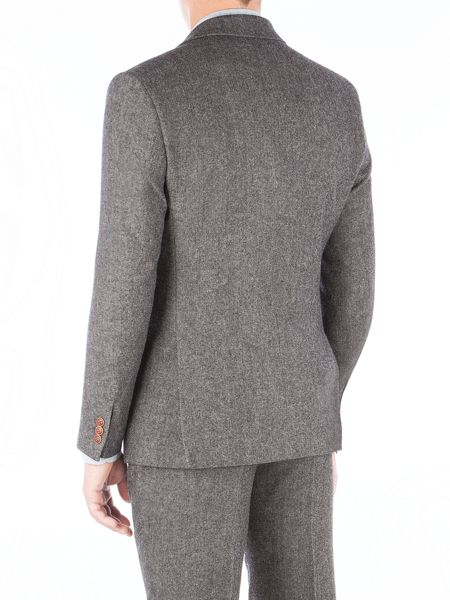 Gibson Grey Herringbone Jacket