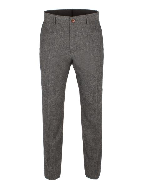 Gibson Grey Herringbone Trouser