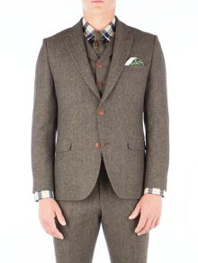 Gibson Green Herringbone Jacket
