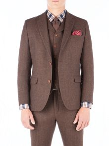 Gibson Rust Herringbone Jacket