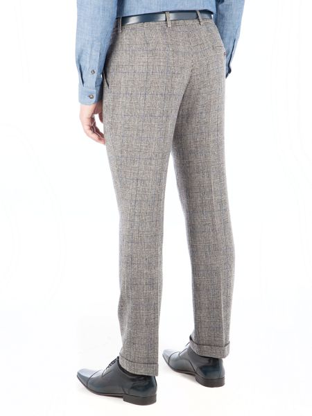 Gibson Silver Grey Check Trouser