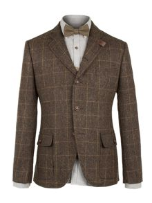 Gibson Brown Herringbone Jacket