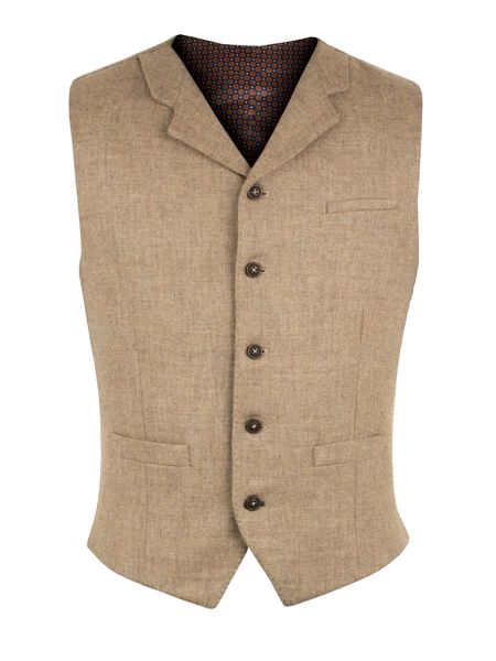 Gibson Taupe Vest