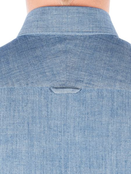 Gibson Denim Style Long Sleeved Shirt