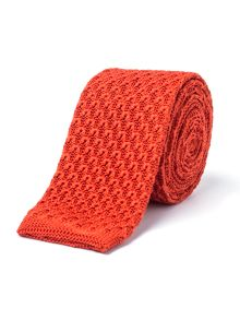Gibson Burnt Orange Knit Tie