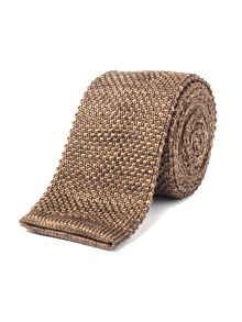 Gibson Light Brown Knit Tie