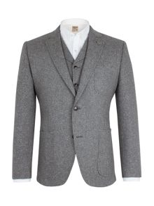 Gibson Grey Donegal Jacket