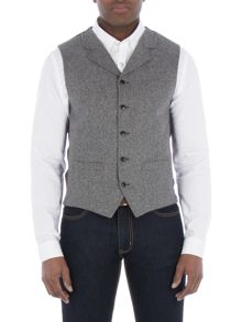 Gibson Grey Donegal Vest