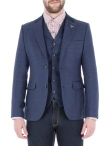 Gibson Navy Pick And Pick Check Jacket