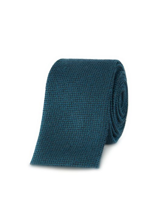 Gibson Black And Teal Tie