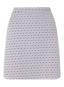 Miss Selfridge Tile A Line Skirt