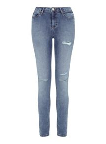 Miss Selfridge Lizzie Vintage Distressed Jean