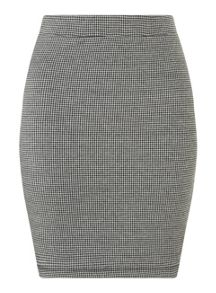 Dogtooth Mini Skirt