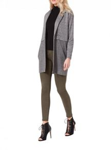 Miss Selfridge Grey Colour Block Jacket