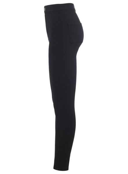 Miss Selfridge Sblack Steffi Super High Waist