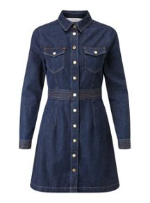 Petites Denim Dress