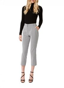 Miss Selfridge Mono Geo Jacquard Trouser