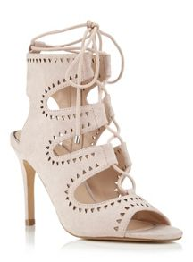 Miss Selfridge SANDY ghillie tie sandal