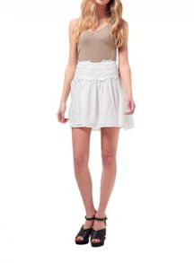 Miss Selfridge Petites Lace Skater Skirt