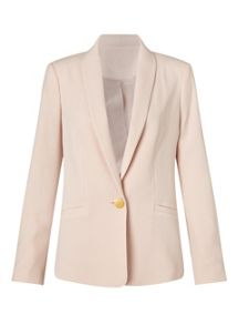 Miss Selfridge Nude Button Detail Jacket