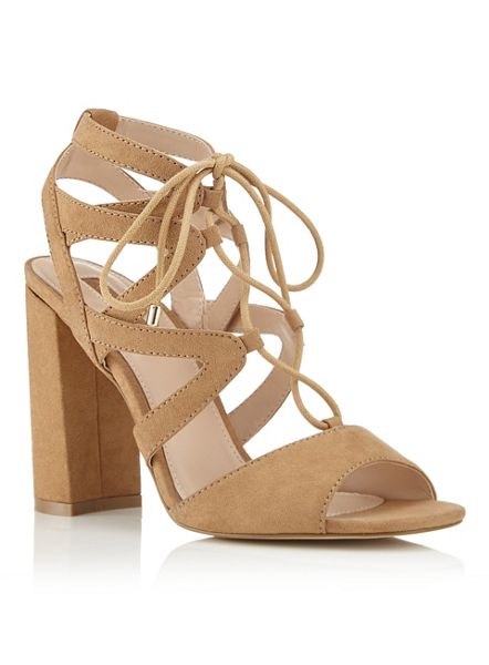 Miss Selfridge STOCKHOLM Ghillie Tie Sandal