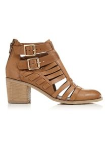 Miss Selfridge AUGUST Strap Cut Out Boot