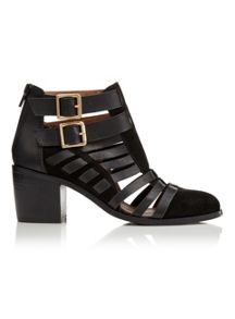Miss Selfridge August Strap Ankle Boot