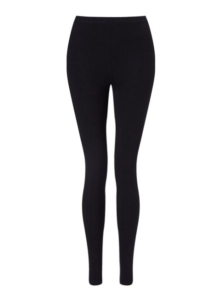 Miss Selfridge Black Ankle Legging