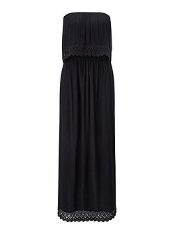 Petites Black Maxi Dress