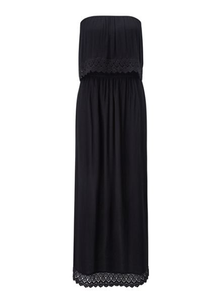 Miss Selfridge Petites Black Maxi Dress