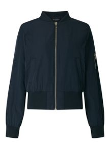 Miss Selfridge Navy Bomber Jacket