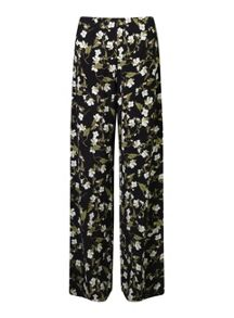 Miss Selfridge Dark Floral Wide Leg