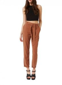 Miss Selfridge Rust Cargo Trouser