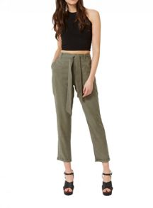 Miss Selfridge Khaki Cargo Trouser
